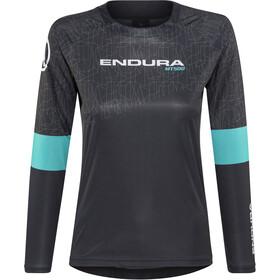 Endura MT500 Print II Jersey longarm Dame black